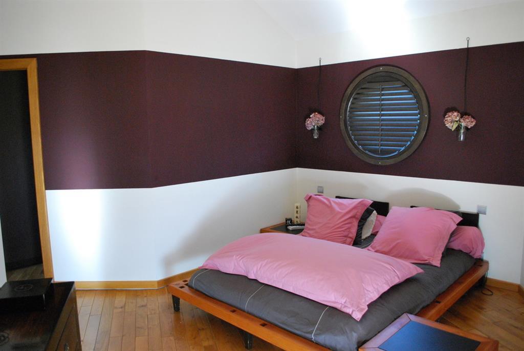Utiliser deux couleurs pour peindre sa chambre comment - Diviser une chambre en deux ...