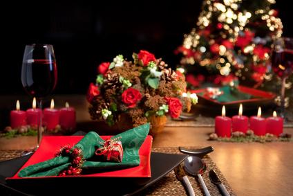 D co pour la f te de no l les fleurs l honneur - Faire une belle table ...