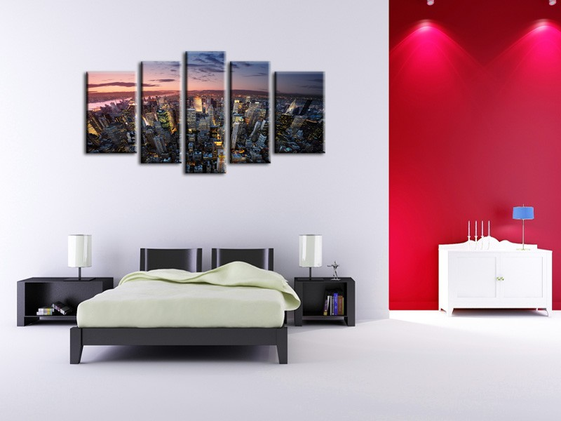 tableau-decoration-manhattan-sunset