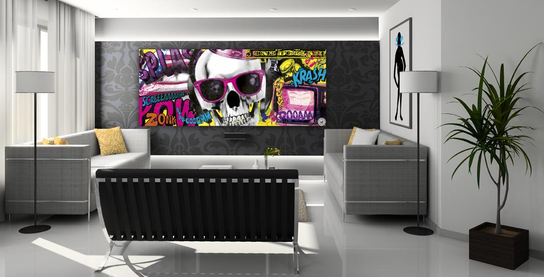 Utiliser deux couleurs pour peindre sa chambre comment - Tableaux de decoration ...