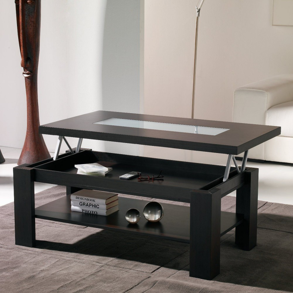 une table basse relevable pour un s jour hors du commun. Black Bedroom Furniture Sets. Home Design Ideas