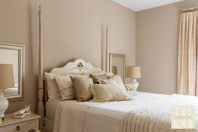 des couleurs claires et pastels dans la chambre coucher