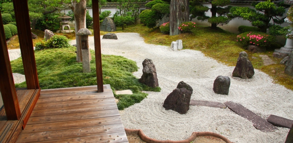 Modele jardin zen photos de conception de maison for Decoration zen jardin